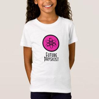 T-shirt futuro do físico camiseta