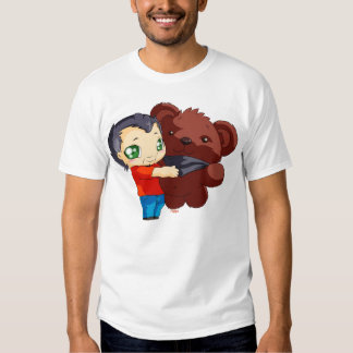 T-shirt Gege and his teddy bear
