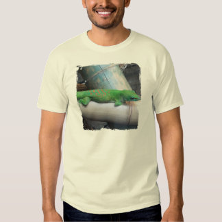 T-shirt gigante do adulto do geco do dia de