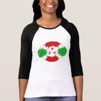 T-shirt Gnarly da bandeira de Burundi