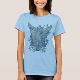 T-shirt gráfico da senhora Liberdade (Libertas) Camiseta