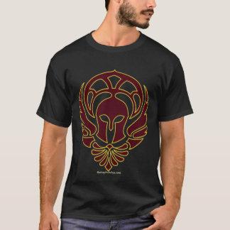 T-shirt grego do guerreiro com citações do Ilíada Camiseta