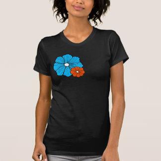 T-shirt havaiano da flor