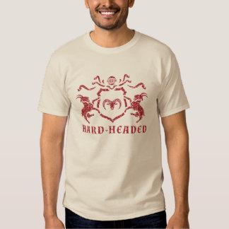 T-shirt heráldico pouco sentimental da cabra