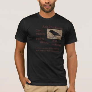 T-shirt ideal do corvo camiseta