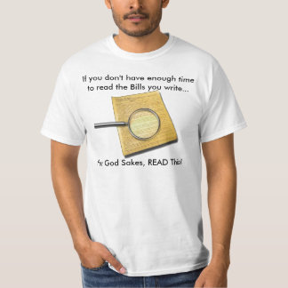 T-shirt iletrado do congresso