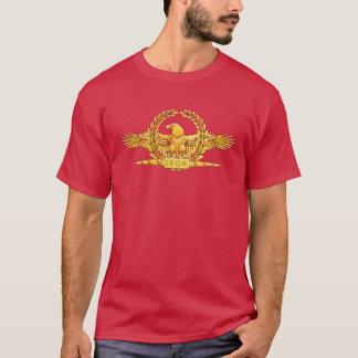 T-shirt imperial romano do gráfico de Eagle Camiseta