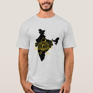 T-shirt impresso Mahal de Taj Camiseta