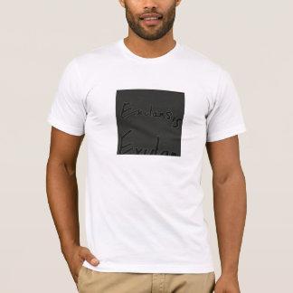 t-shirt indie simples com detalhe da palavra camiseta