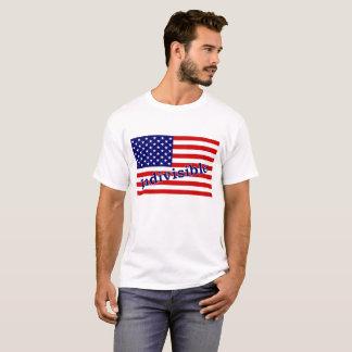 """T-shirt indivisível com o """"indivisível"""" na camiseta"""