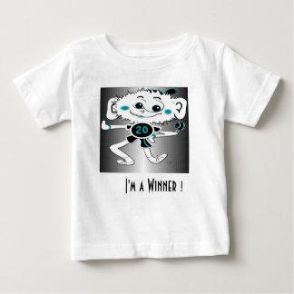 """T-shirt infantil """"eu sou um vencedor! """""""