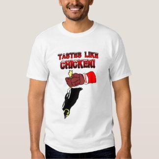 T-shirt inoperante do pinguim de Detroit
