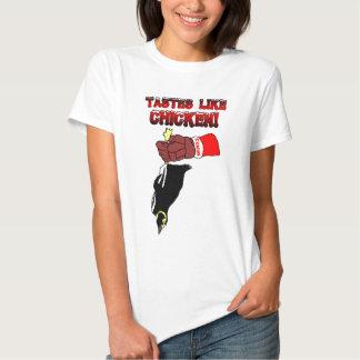 T-shirt inoperante do pinguim do Detroit das