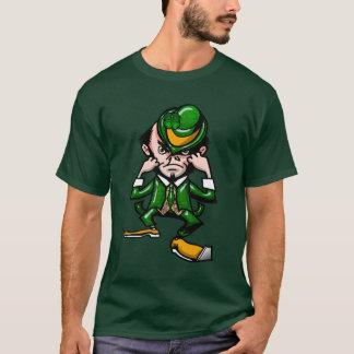T-shirt irlandês de combate camiseta