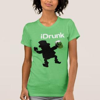T-shirt irlandês do Eu-Bebado Camiseta