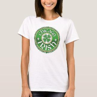 T-shirt irlandês do trevo de Chicago Camiseta