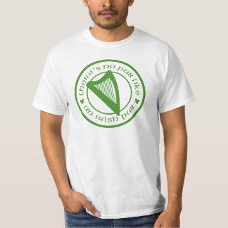 T-shirt irlandês do valor da harpa do bar