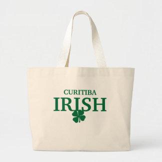 T-shirt irlandês feito sob encomenda orgulhoso da  bolsa para compras