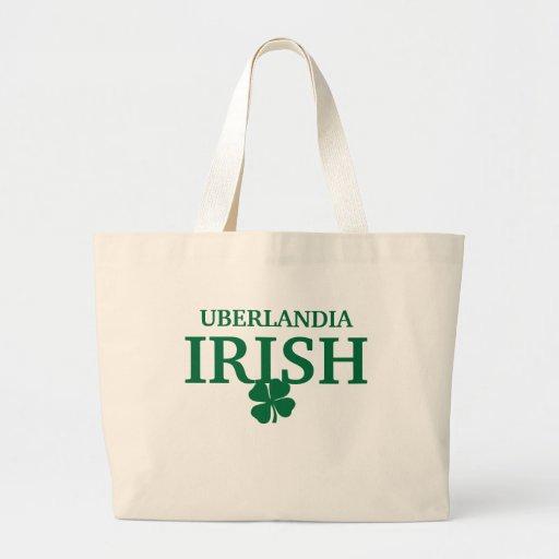 T-shirt irlandês feito sob encomenda orgulhoso da  bolsa