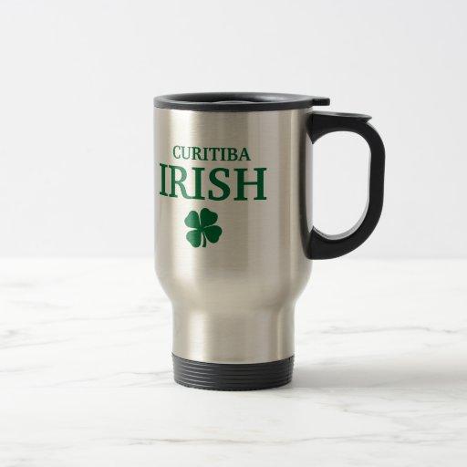 T-shirt irlandês feito sob encomenda orgulhoso da  caneca