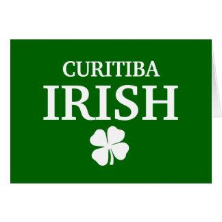 T-shirt irlandês feito sob encomenda orgulhoso da  cartão comemorativo