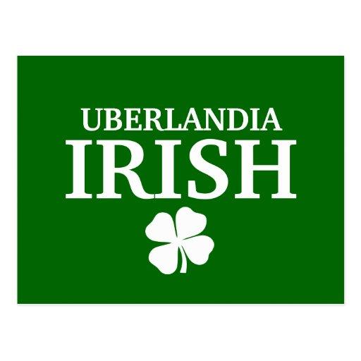T-shirt irlandês feito sob encomenda orgulhoso da  cartoes postais