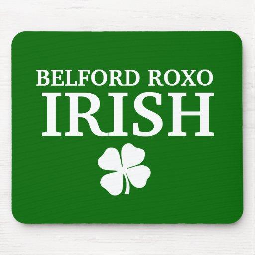 T-shirt irlandês feito sob encomenda orgulhoso da  mousepads