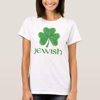 T-shirt irlandês judaico camiseta