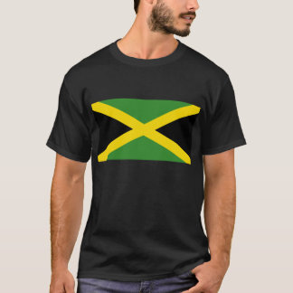 T-shirt jamaicano da bandeira