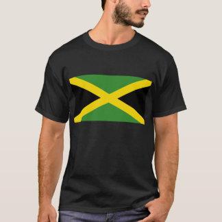 T-shirt jamaicano da bandeira camiseta