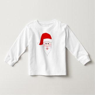 T-shirt longo da luva da criança da cara do papai