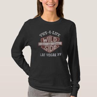 T-shirt longo da luva das senhoras de VWS-4-LIFE Camiseta