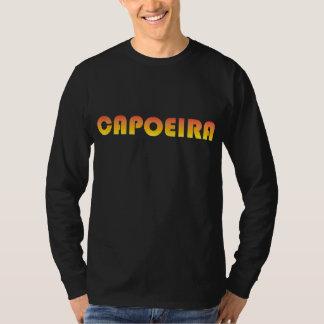 T-shirt longo da luva de Capoeira Camiseta