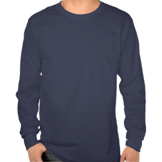 T-shirt longo da luva do acesso aberto de PLoS es