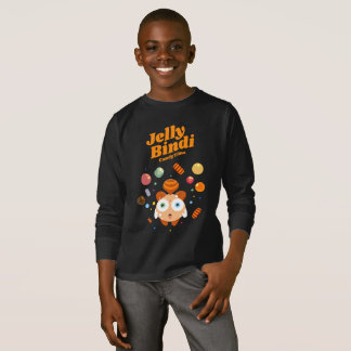 T-shirt longo da luva do tempo dos doces de Bindi Camiseta