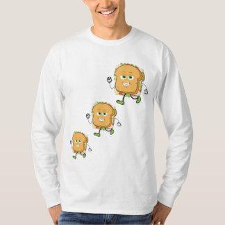 T-shirt longo da luva dos homens de SamMich Camiseta