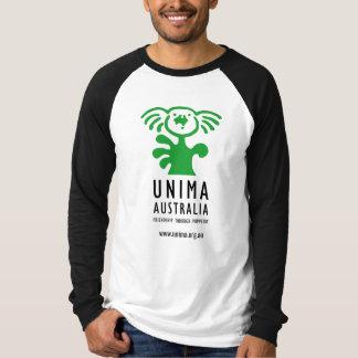 T-shirt longo da luva dos homens de UNIMA Camiseta