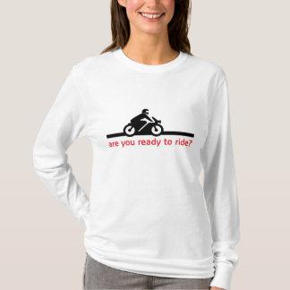 T-shirt longo do algodão da luva das senhoras camiseta