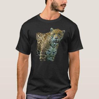 T-shirt manchado selvagem do design da arte do camiseta