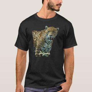 T-shirt manchado selvagem dos animais selvagens do camiseta