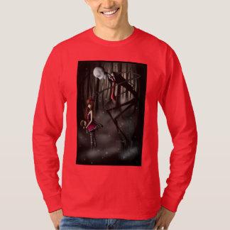 "T-Shirt manga longa ""SlenderMan "" Camiseta"