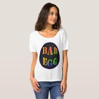 T-shirt mau engraçado   da indicação do ovo da camiseta