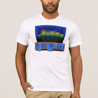 T-shirt mestre do estilo de Hip Hop da mistura Camiseta