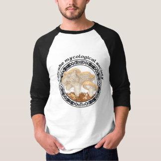 T-shirt micológico do ouriço da sociedade da camiseta