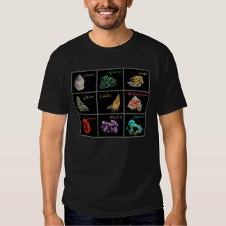 T-shirt mineral da coleção