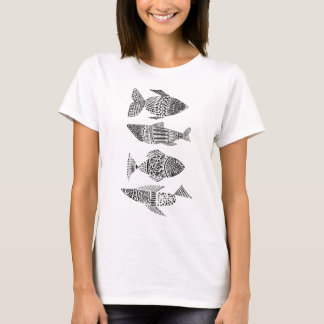 T-shirt mulher PEIXES STYLISES Camiseta