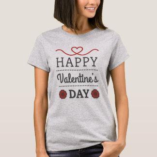 T - shirt Mulher Santo Valentin Camiseta