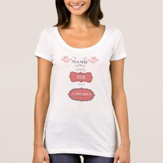 T-shirt mulher VOVÓ NEW GERAÇÃO Camiseta
