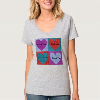 T-shirt Nano das senhoras das frases de