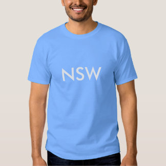T-shirt não oficial da origem NSW